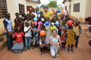 Mission auprès des enfants en Afrique de l'Ouest