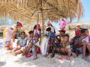 Animation à Madagascar